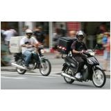 contratar empresa de delivery em motos Santa Cecília